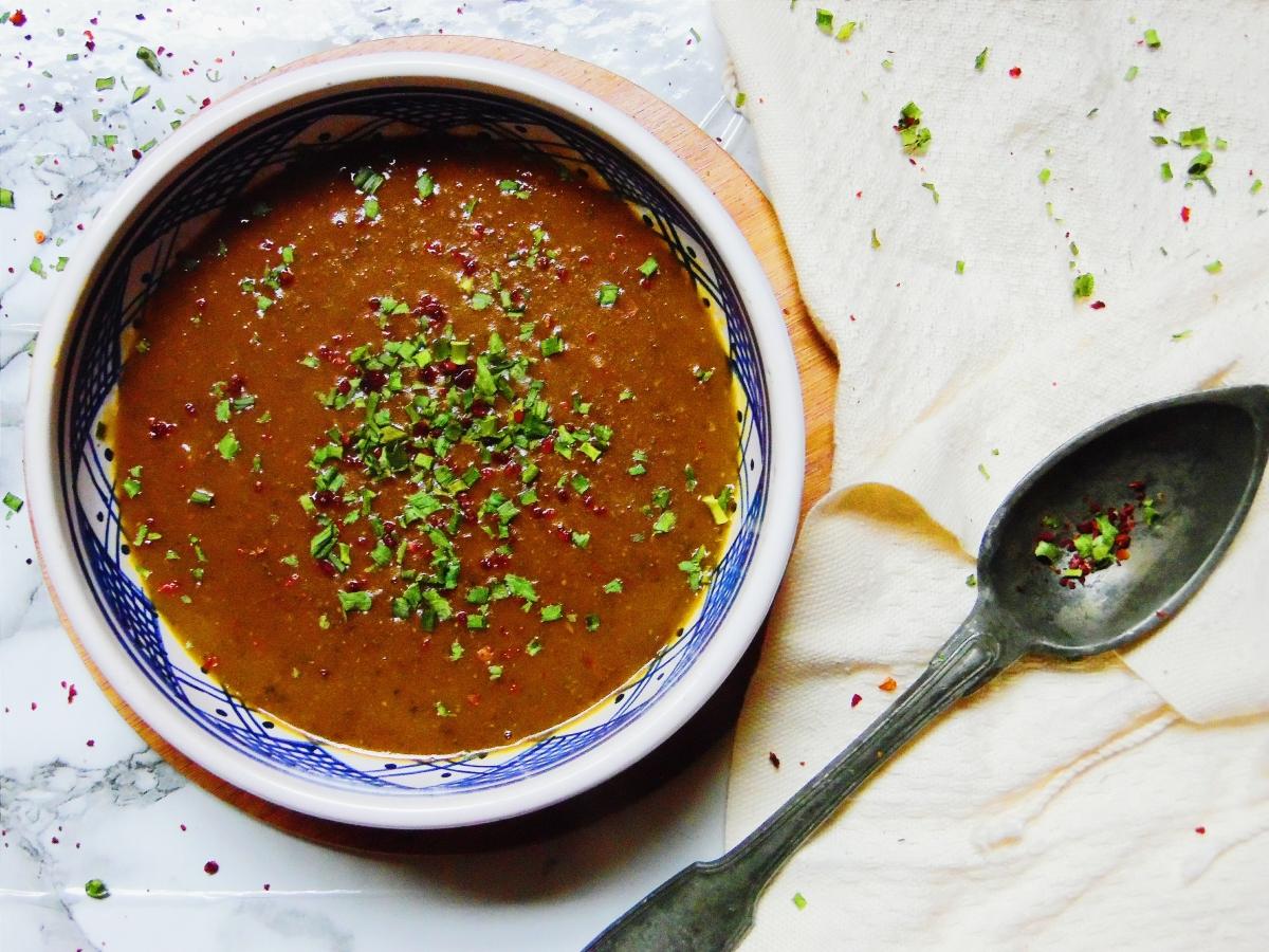 Soupe aux lentilles (Recette Kurde)