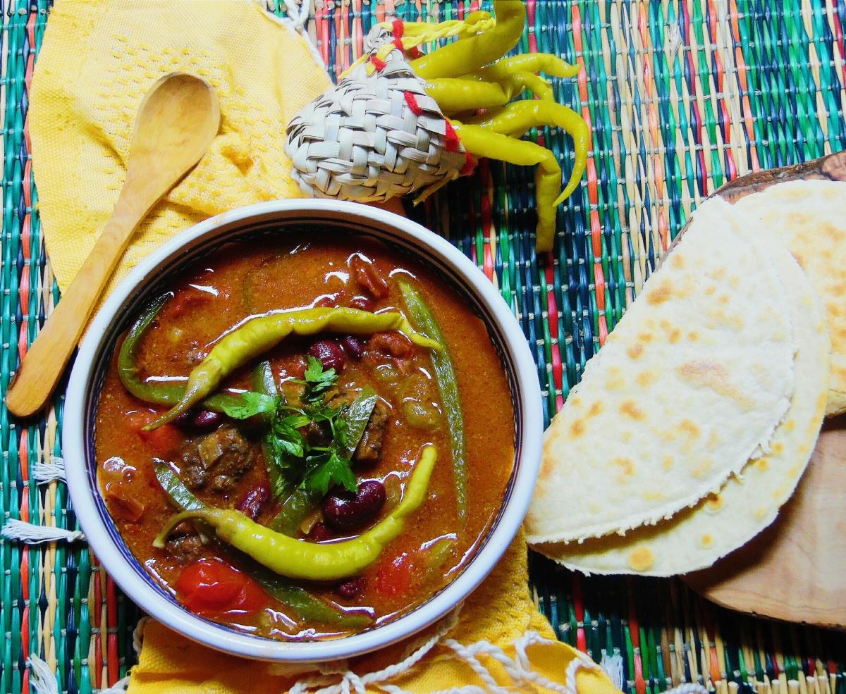 Soupe mexicaine épicée(à la façon Hsou)