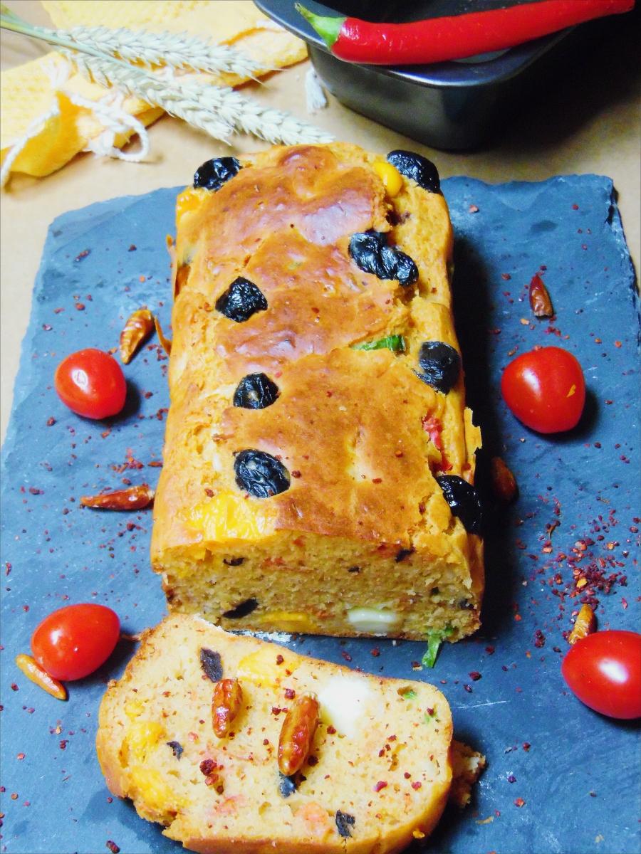 Shakshuka Cake ( Cake méditerranéen )