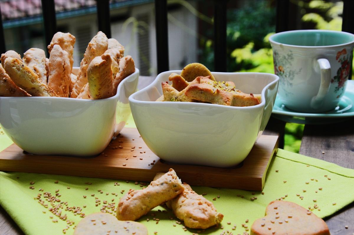 Biscuits Tunisiens aux noisettes (Bachkoutou)