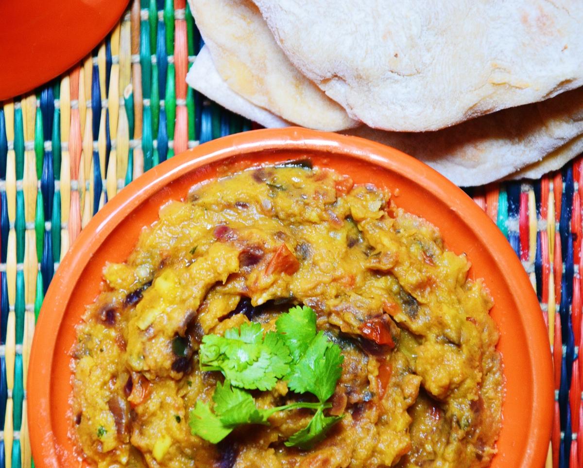 Cuisine indienne-Chutney d'aubergines