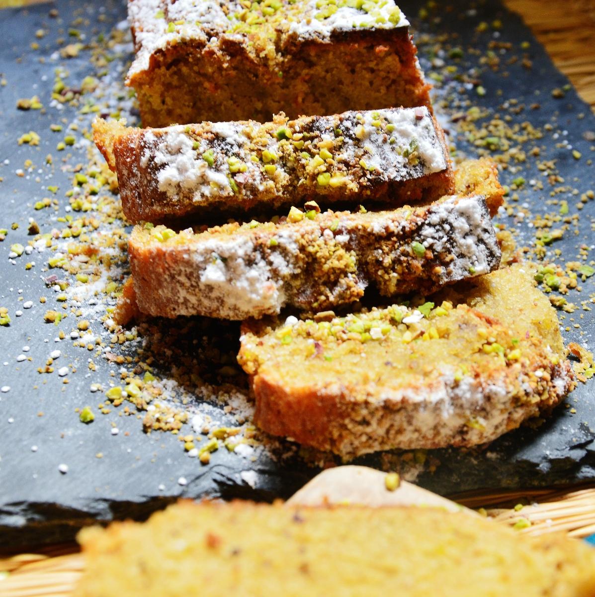 Cake à la pistache(recette facile)